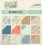 Hello World 6 x 6 Paper Pad - My Minds Eye