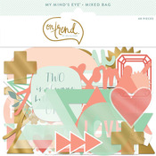 Awesome Gold Foiled Mixed Bag - On Trend - My Minds Eye