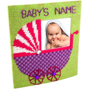 """7.7""""X6.7"""" 10 Count - The Nanny Framous Plastic Canvas Kit"""