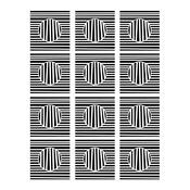Optical Illusion 9 x 12 Stencil - Joggles