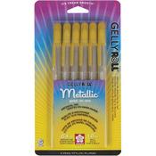 Gold - Gelly Roll Metallic Pens 6/Pkg