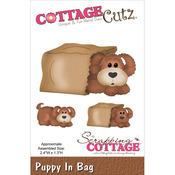 CottageCutz Die - In The Woods Puppy In Bag