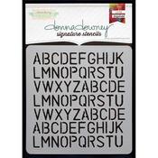 Alphabet Rerun - Donna Downey Signature Stencils