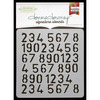 Numbers Repeat - Donna Downey Signature Stencils