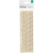 Gold Dot - DIY Shop 2 Paper Straws 24/Pkg