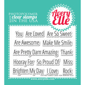 Simply Said - Avery Elle Clear Stamp Set
