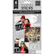 Joy To The World Clear Stickers - Pocket Pages - Me & My Big Ideas