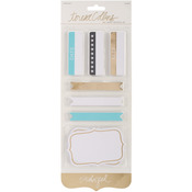 Studio Gold Journaling Labels 70/Pkg