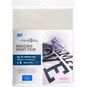"""8.5""""X11"""" - Impress Imaging Ink Jet Print Films 6/Pkg"""