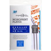 "6""X8"" - Impress Monoprint Plates 3/Pkg"