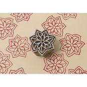 Star Petals - Blockwallah Block Stamp