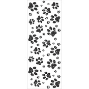Furry Friends Paw Prints Clear Stamps - KaiserCraft