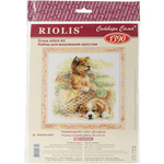 "9.75""X9.75"" 14 Count - Tender Age Counted Cross Stitch Kit"