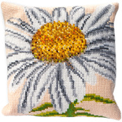 """15.75""""X15.75"""" 18 Count - Marguerite Cushion Tapestry Kit"""