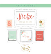 On Trend Gold Foiled Frameables - Niche - My Minds Eye