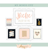Fancy That Gold Foiled Frameables - Niche - My Minds Eye