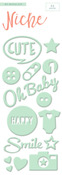 Oh Baby Foam Stickers - My Minds Eye