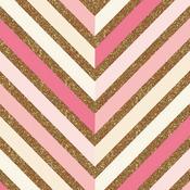Pattern Gold Glitter Paper - Craft Market - Crate Paper