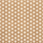 Burlap Polka Dot Fabric Sheet - Craft Market - Crate Paper