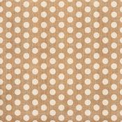 Burlap Polka Dot Fabric Sheet - Craft Market - Crate Paper