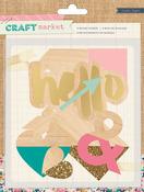Craft Market Wood Veneer Pieces - Crate Paper