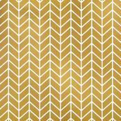 Gold Chevron Paper - Flutter - Fancy Pants