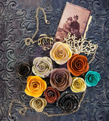 Flashback Mulberry Paper Flowers - Timeless Memories - Prima