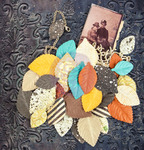 Impression Mulberry Paper Leaves - Timeless Memories - Prima