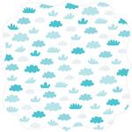 "Fresh Air - Campout Invisibles Die-Cut Plastic Sheet 12""X12"""