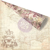 French Roses Paper - Butterfly - Prima