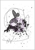 Butterfly Treasured Memories 6 Cling Stamp - Prima