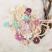 Chenille Mulberry Paper Flowers - Butterfly - Prima