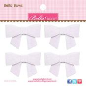 Milk White Bella Bow - Color Chaos