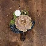 Espen Canvas & Burlap Flower Stem - Sylvan - Prima