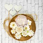 Simona Mulberry Paper Flowers - Valentina - Prima