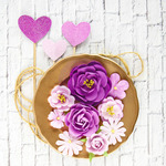 Ciana Mulberry Paper Flowers - Valentina - Prima