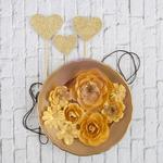 Bruna Mulberry Paper Flowers - Valentina - Prima