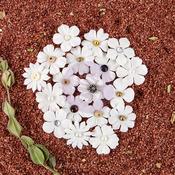Adelita Mulberry Paper Flowers - Pura - Prima