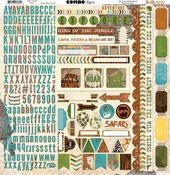 Safari Combo Stickers - Bo Bunny