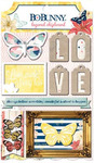 Sweet Life Layered Chipboard - Bo Bunny