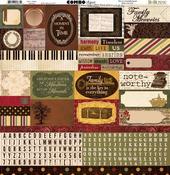Heritage Combo Stickers - Bo Bunny