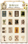 Heritage Stamp Stickers - Bo Bunny