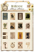 Heritage Stamp Stickers - Bo Bunny