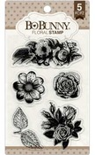 Floral Clear Stamps - Bo Bunny