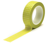 Grid Green Trendy Tape - Queen