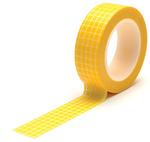 Grid Yellow Trendy Tape - Queen