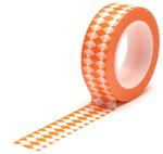 Diamonds Orange Trendy Tape - Queen