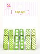 Green Clip Ups - Queen & Co