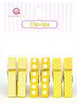 Yellow Clip Ups - Queen & Co