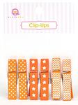 Orange Clip Ups - Queen & Co